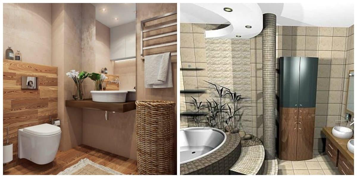 Diseño de baños pequeños- colores muy de moda para tu bano moderno