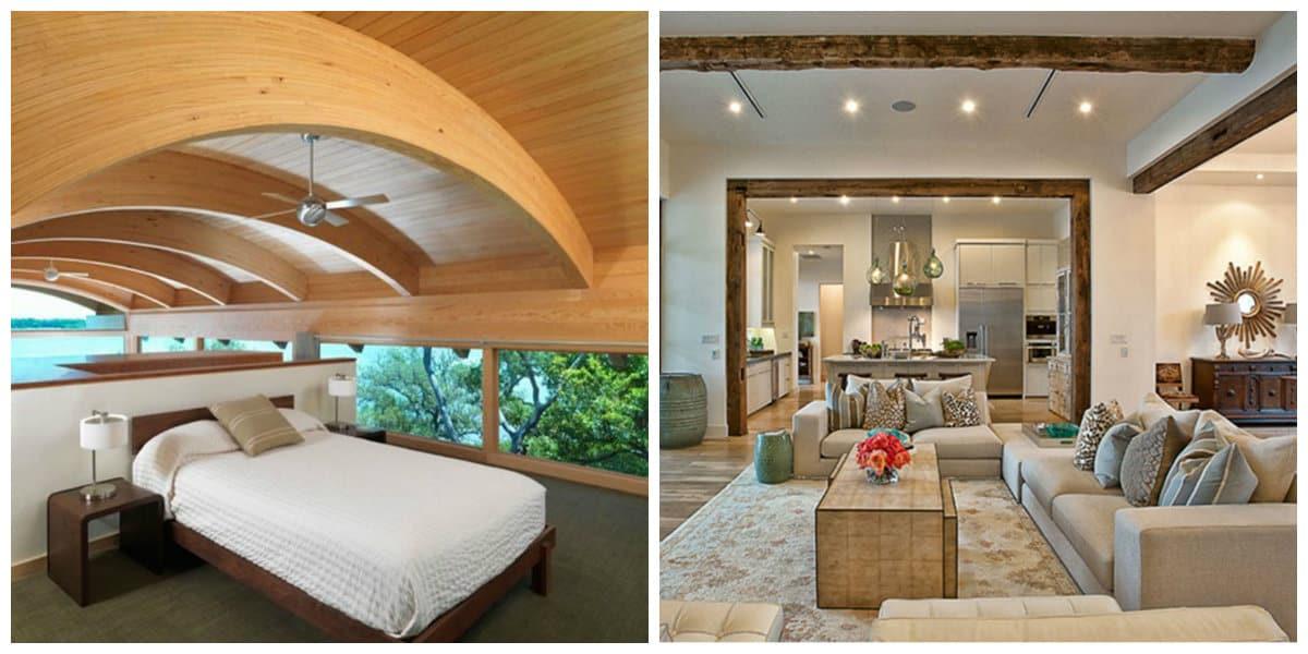 Diseño de casas 2018- harmonia con la naturaleza y elegancia de colores