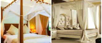 Diseño de dormitorios- habitaciones y camas con dosiles