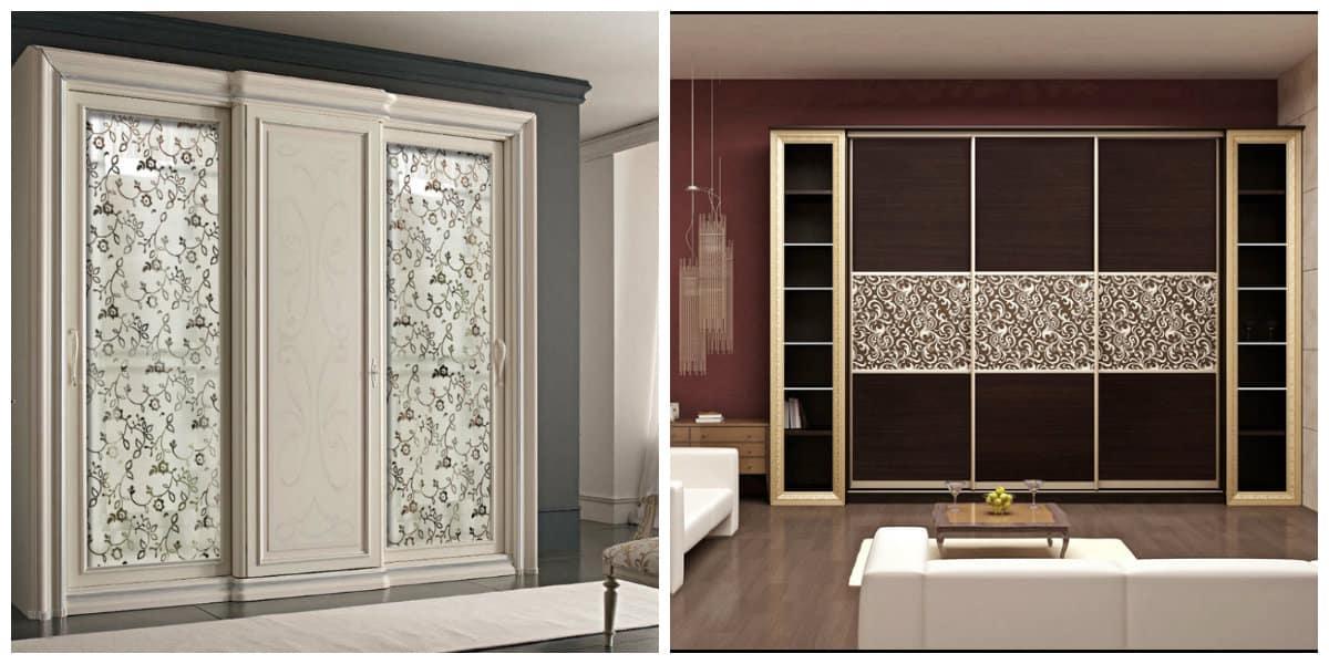 Diseño de gabinete- armarios hechos de madera muy modernas