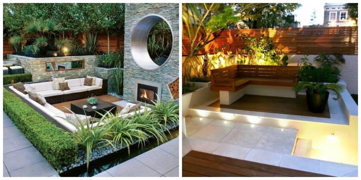 Diseño de jardines- decoracion de los jardines modernos