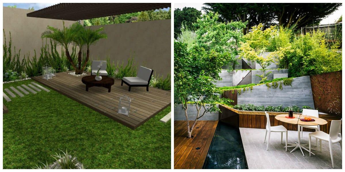 Diseño de jardines- de acuerdo con las leyes de naturaleza
