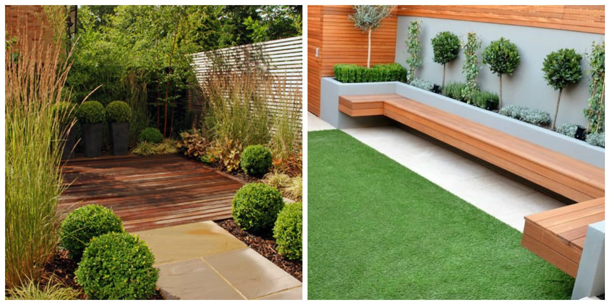 Diseño de jardines- naturaleza u obra humana junto el uno al otro