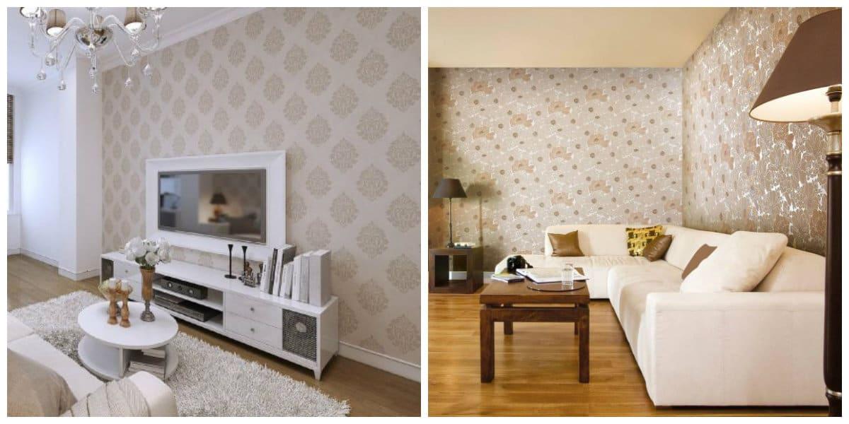 Fondos de pantalla modernos- comunes texturas para sala de estar