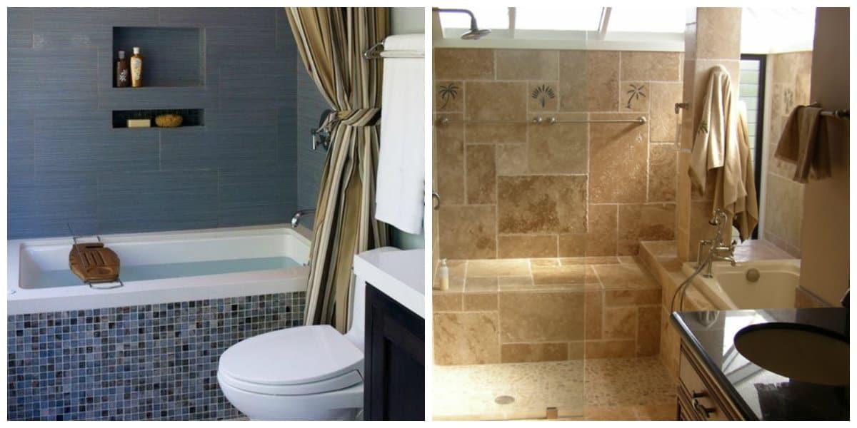 Ideas de baños- simplicidad y practica en la tendencia de banos