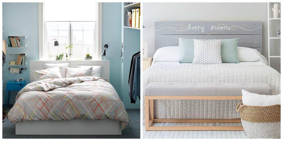 Ideas de dormitorios- colores claras para las paredes y las camas