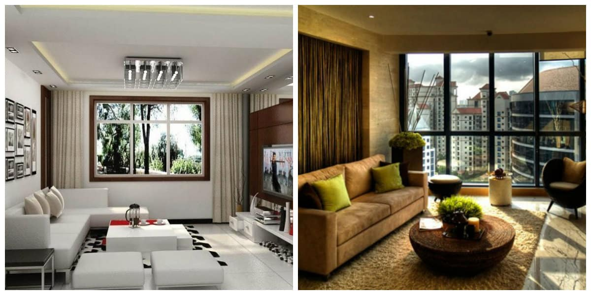 Ideas de salas de estar- tendencias principales en transcurso