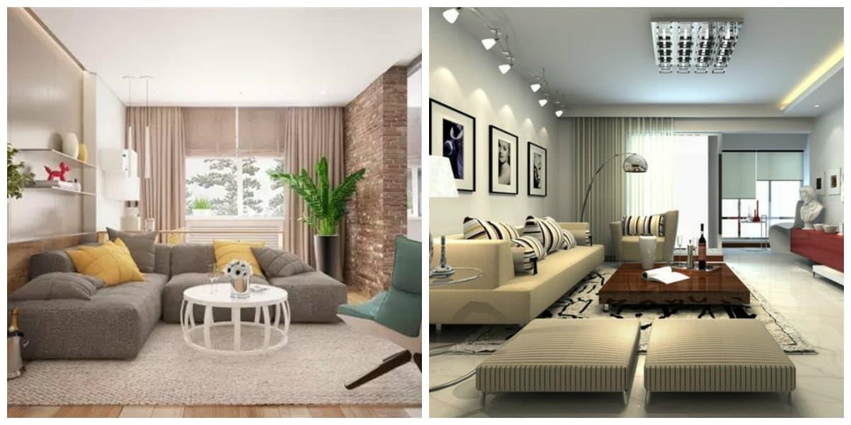 Ideas de salas de estar- muchos cuadros sobre paredes y otros accesorios en uso