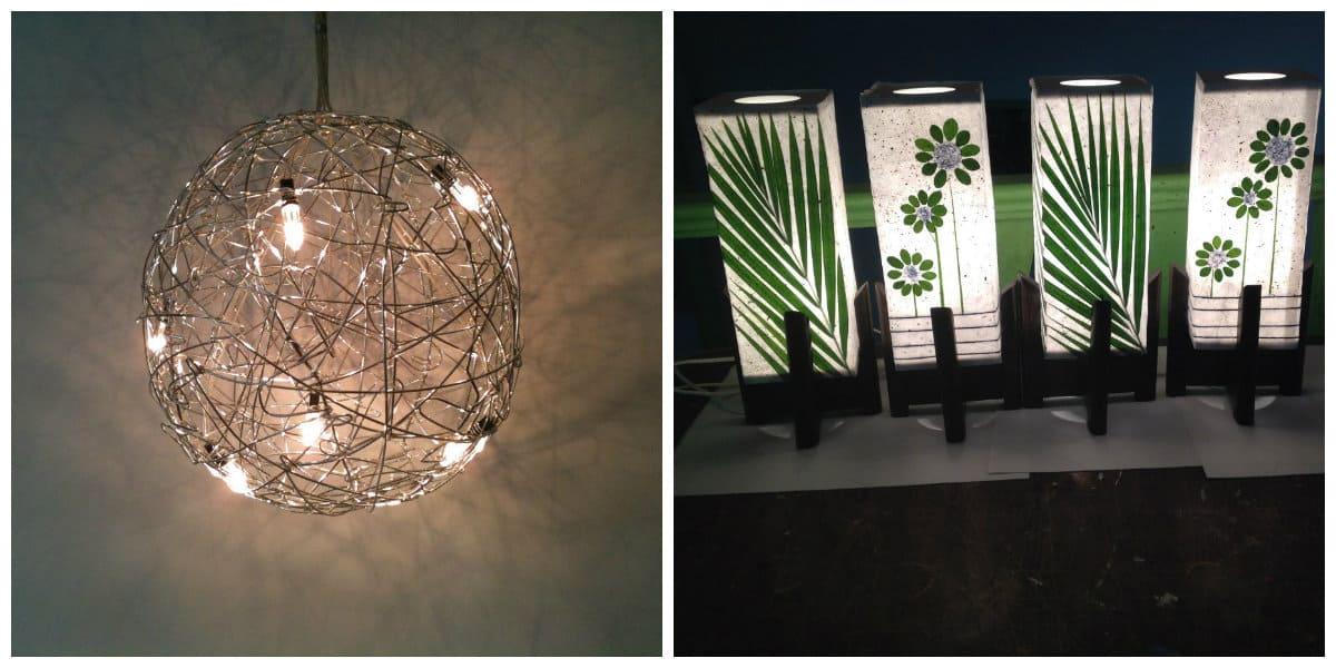 Lámparas modernas- doseno moderno de la decoracion del salon