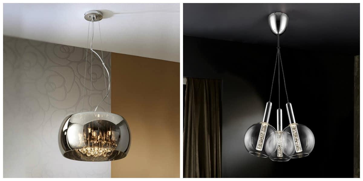 Lámparas modernas- diseno de tu casa y especialmente del salon