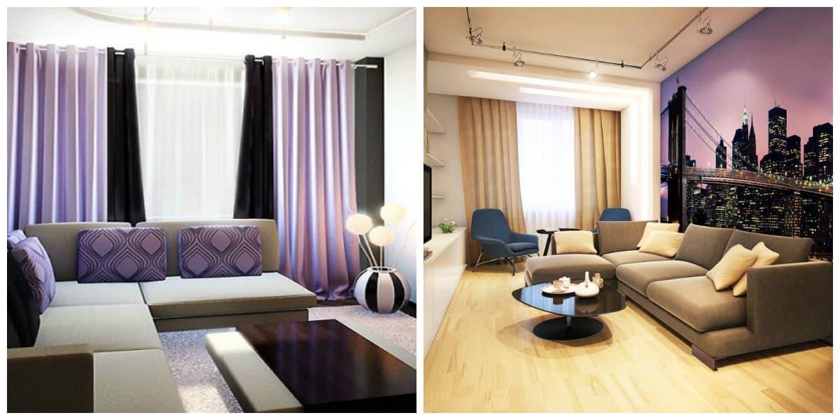 Modelos de salas modernas- uso de colores muy de moda en tendencia