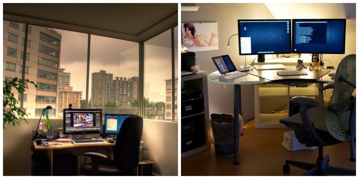 Oficinas modernas- todas las tendencias principales