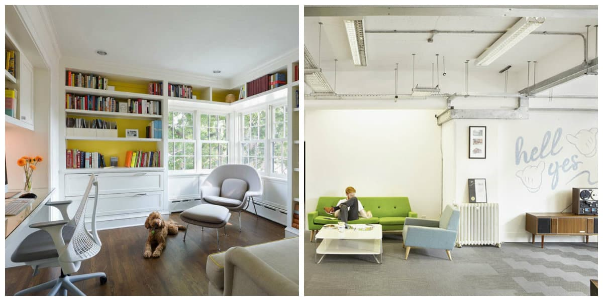 Oficinas modernas 12 tendencias del dise o de oficina en casa for Oficinas pequenas modernas en casa