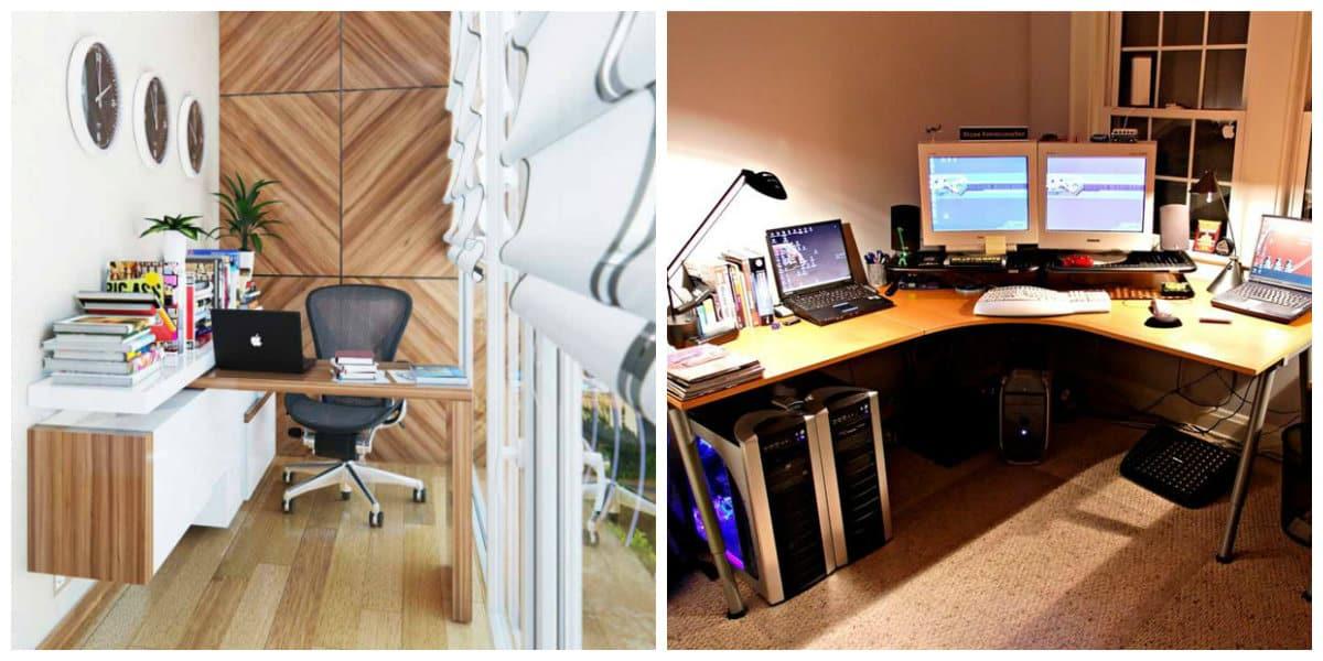 Oficinas modernas- comodidad en hogar moderno