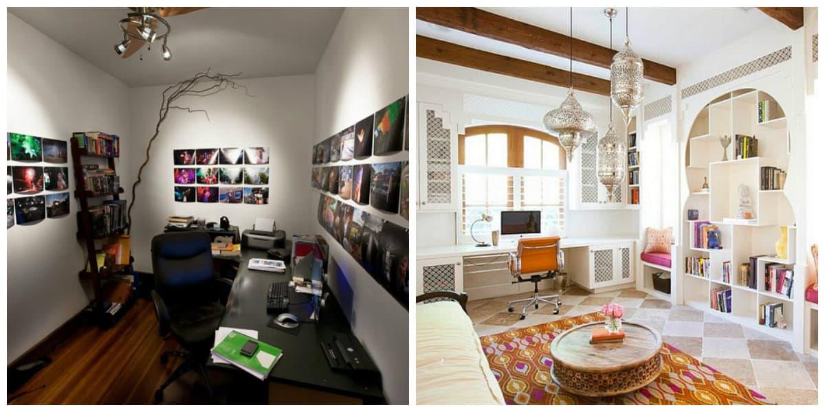 Oficinas modernas-conjunto de plantas pequenas en el hogar