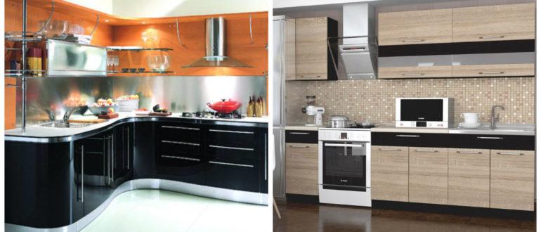 Paquetes de cocina- organizacion de los muebles modernos para la cocina
