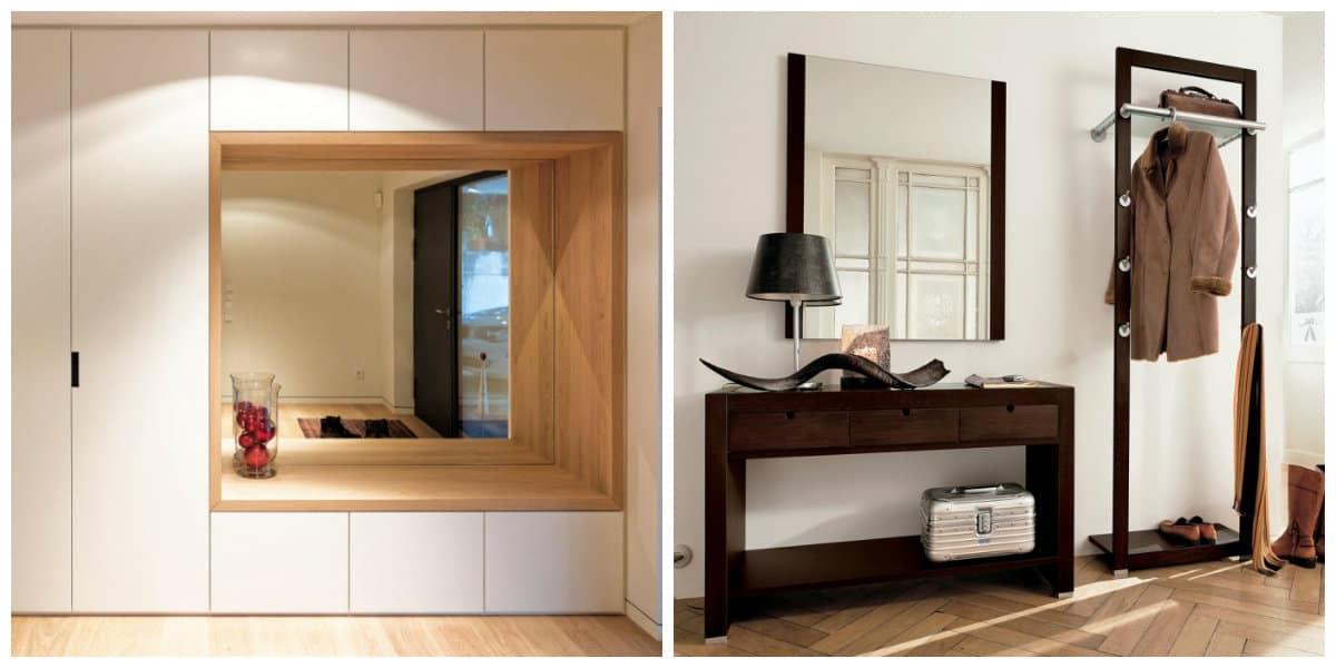 Pasillos modernos- armarios y espejos como elementos principales