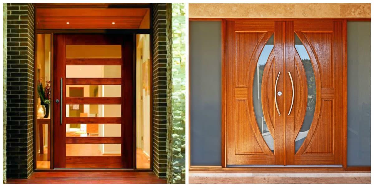 Puertas de entrada- puertas de madera siempre de moda