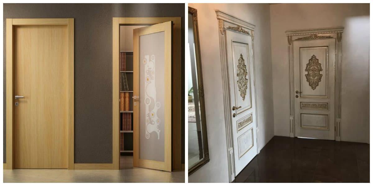 Puertas de interior 2020- colores de beige para no atraer mucha atencion
