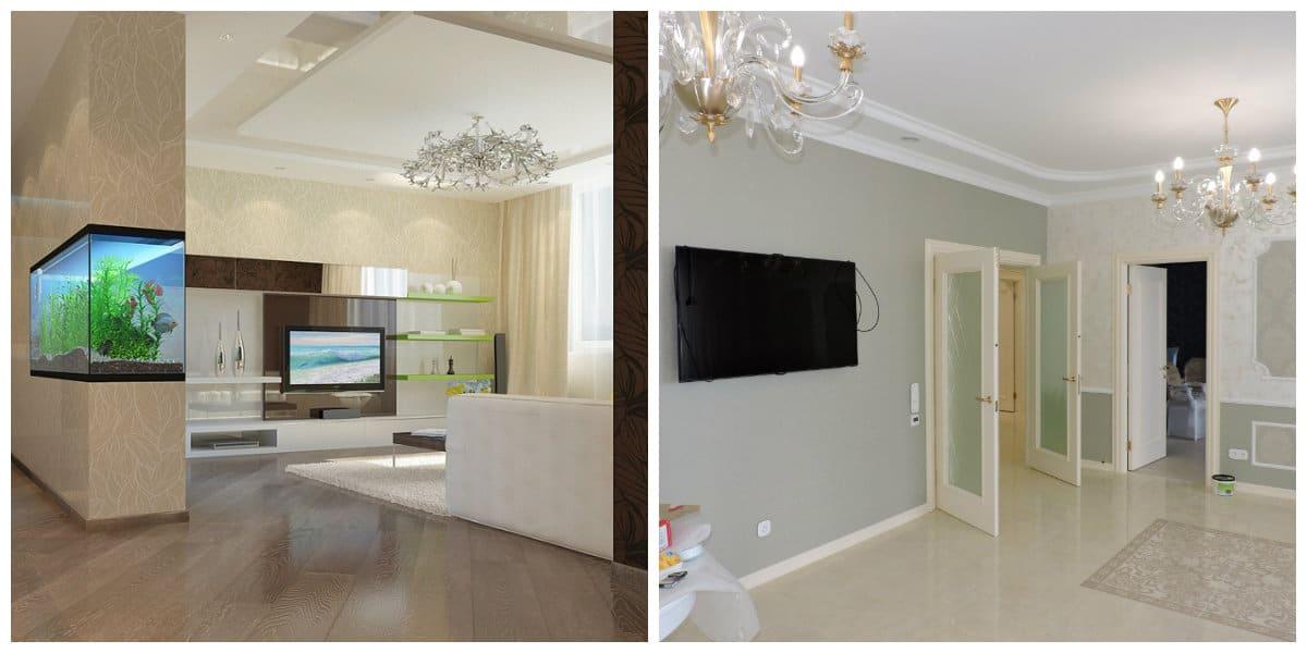 Reparaciones del hogar- salas de estar espaciosas para muebles de moda