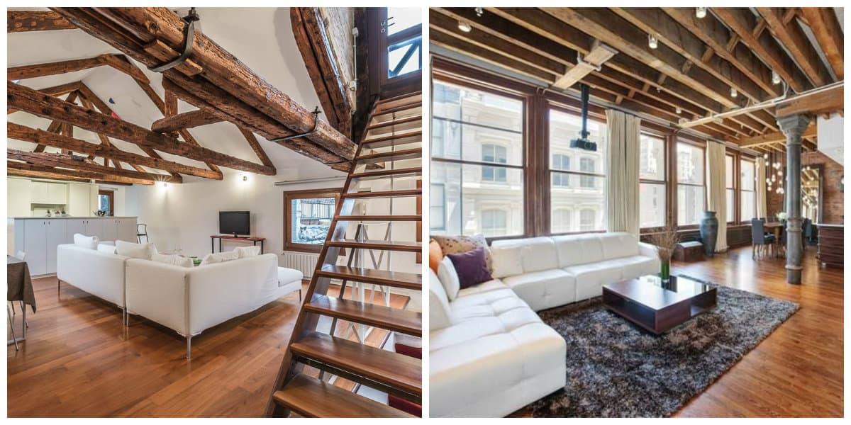 Apartamento estilo loft- ideas de apartamentos tipo atico