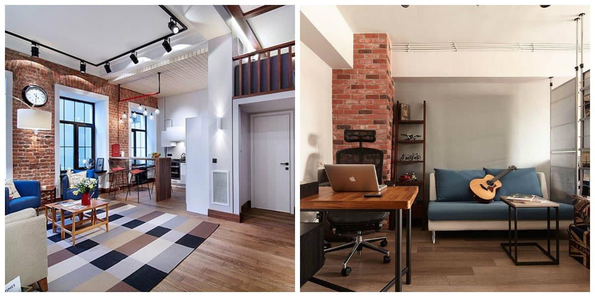 Apartamento estilo loft- attibutos que hacen sentir el estilo loft moderno