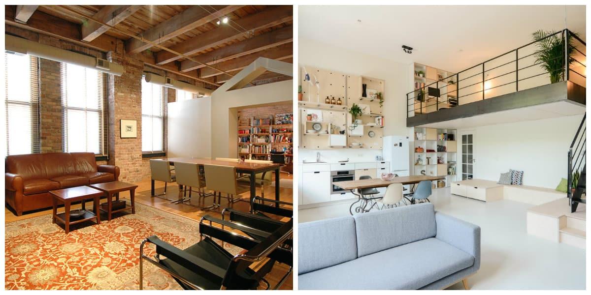 Apartamento loft- hay muchos atributos que ayudan en la decoracion del hogar