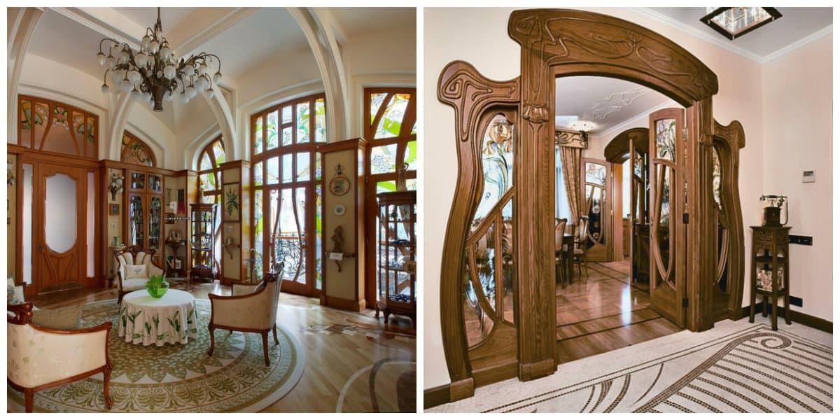 Art nouveau diseño- ideas para las casas bastante grandes