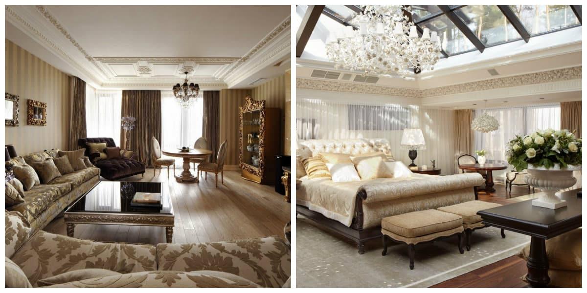 Art nouveau diseño- interiores lujosos y elegantes
