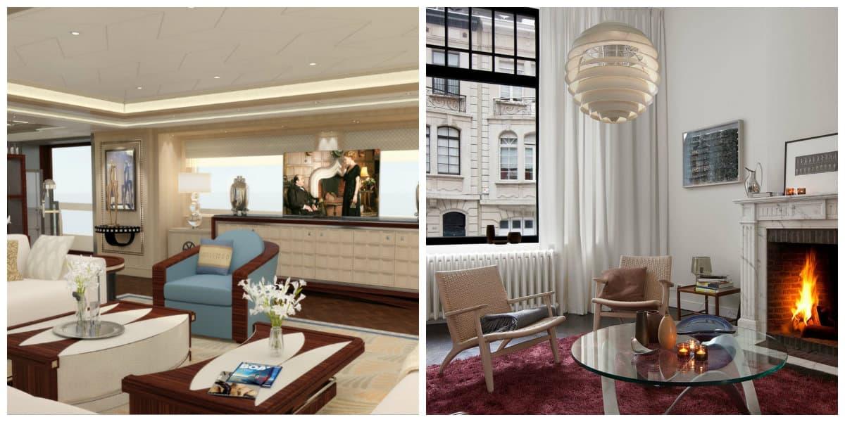 Art nouveau diseño- interior en estilo frances para tu casa