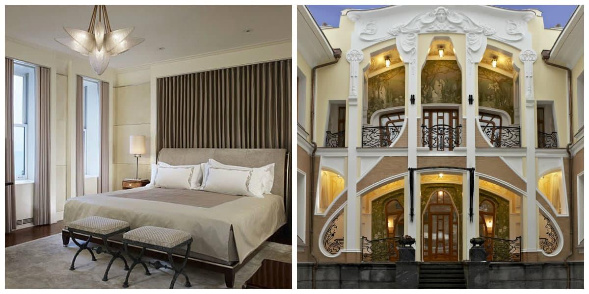 Art nouveau diseño- como lograr un interior de diseno muy perfecto