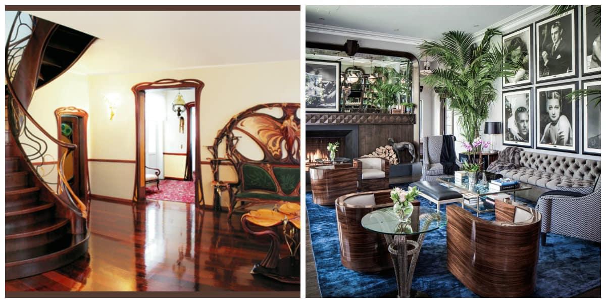 Art nouveau diseño- estilos desde Australia con respecto a la modernidad