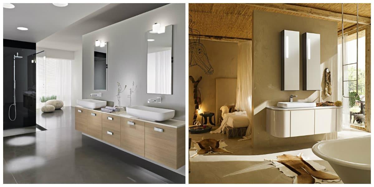Baño en italiano- hay algunos tipos de muebles muy a menudo usados