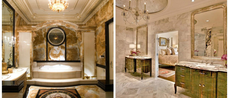Baño en italiano- lujosos banos nos llegan desde Roma Antigua