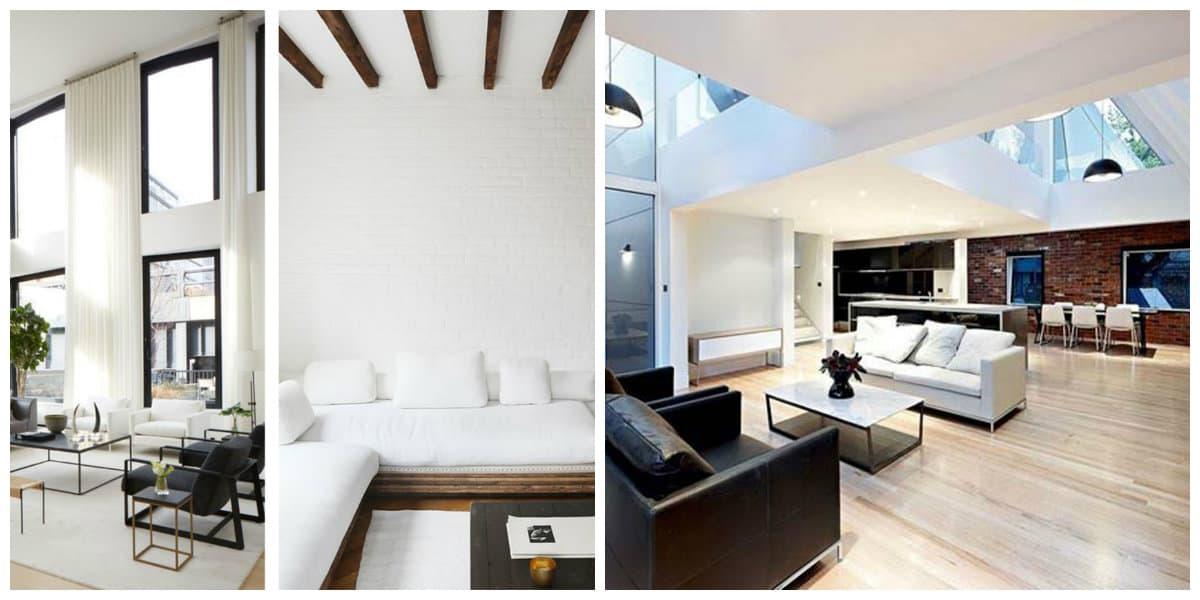 Casas estilo moderno- el espacio de la casa moderna es a veces grande