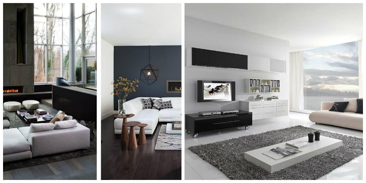 Casas estilo moderno- los colores estan generalmente de oscuros