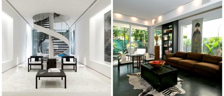 Casas estilo moderno- hay una diversidad de muebles de moda