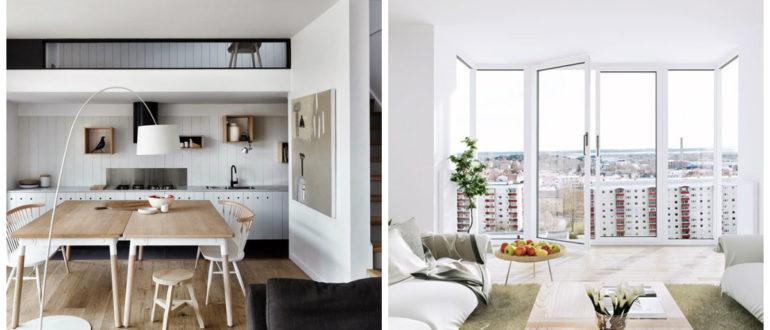 Casas nordicas- se prohibe usar cortina en casa de este tipo