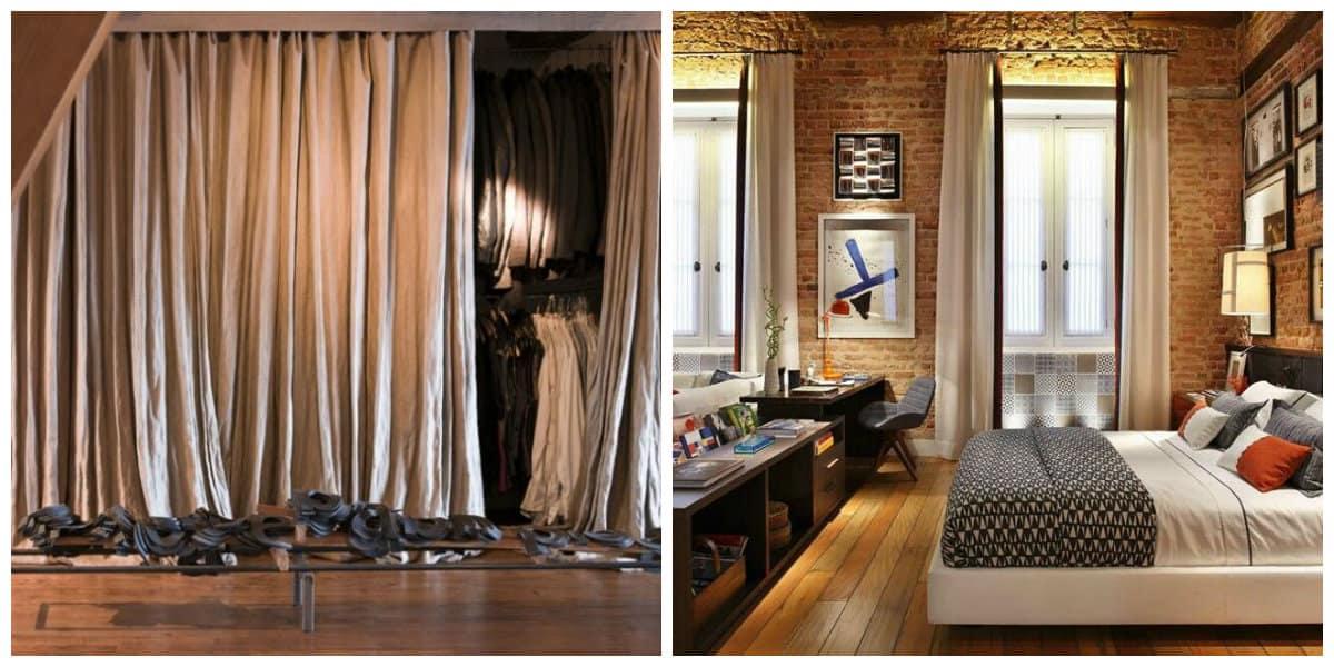 Cortinas para loft- colores muy de moda para las cortinas de tu apartamento