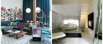 Cortinas para loft- la decoracion de tu sala de estar de estilo loft