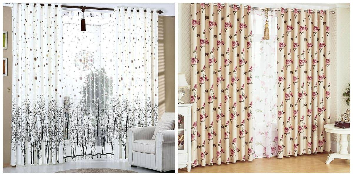 Cortinas rusticas- hay varioas etapas de la longitud de las cortinas