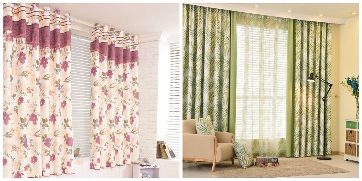 Cortinas rusticas- se puede elegir cortinas de diferentes colores