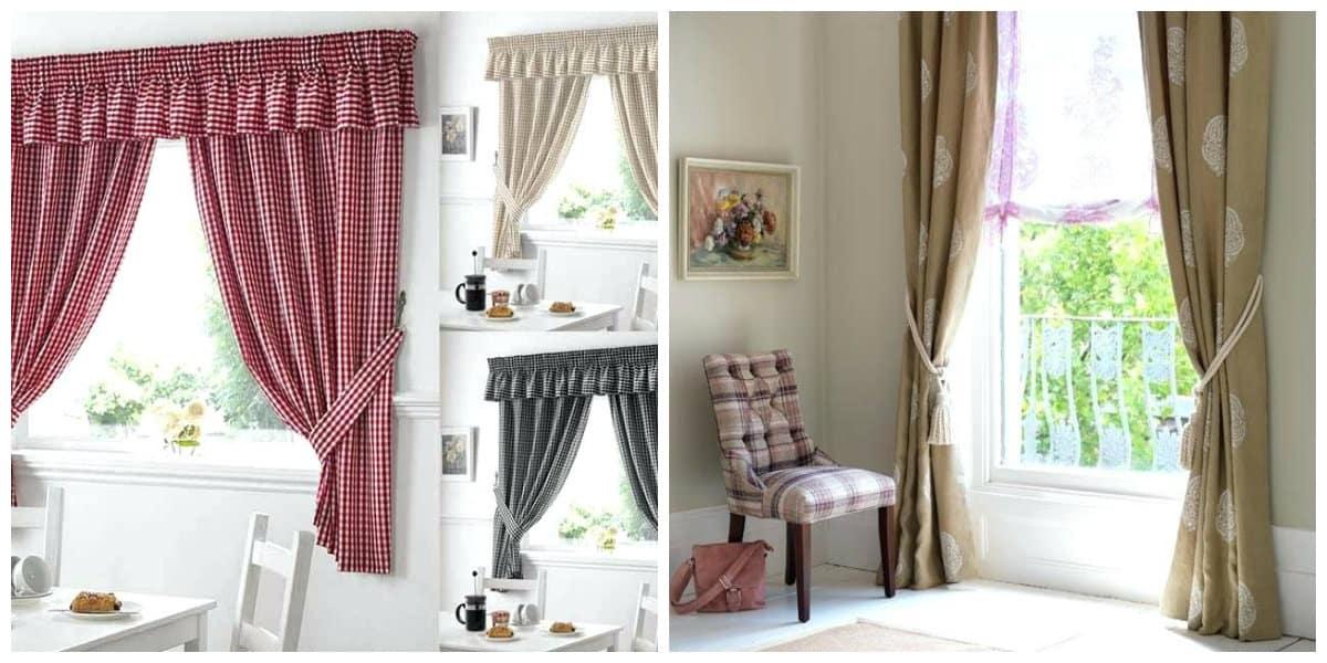 Cortinas rusticas- algunas ideas de las cortinas mas usadas en el diseno