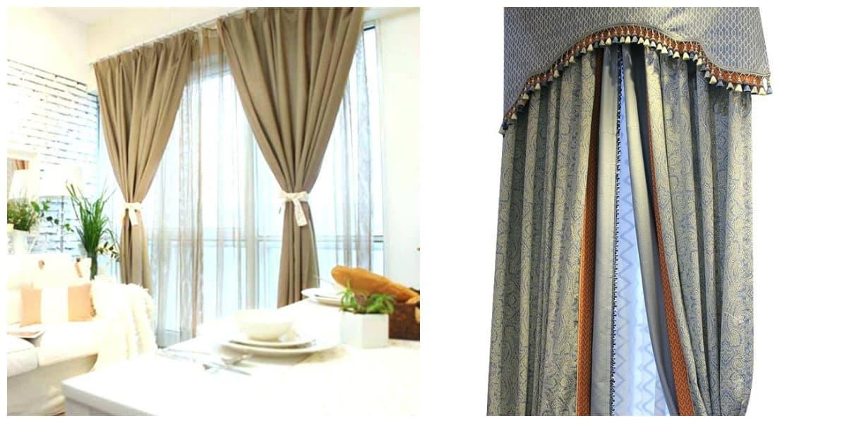 Cortinas rusticas- la decoracion de la casa seria incompleta sin cortinas