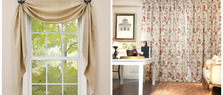 Cortinas rusticas- todas las ideas y tendencias de moda