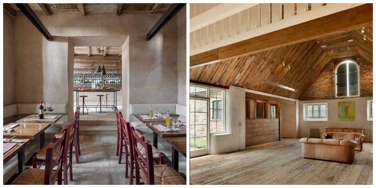 Decoracion casas de campo- habitaciones estilo antiguo pero de moda