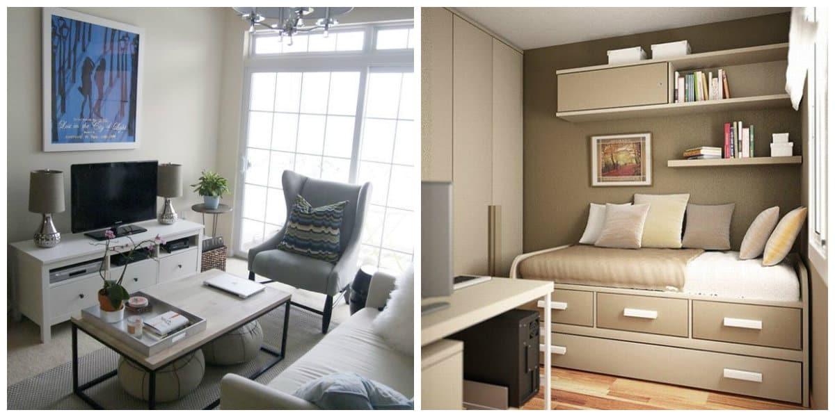 Decoracion de habitaciones pequeñas- imaganes muy a gusto