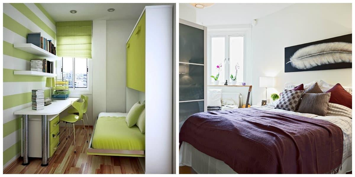 Decoracion de habitaciones pequeñas- colores principales