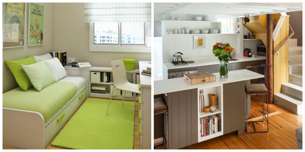 Decoracion de habitaciones peque as todos los trucos del for Diseno habitaciones pequenas