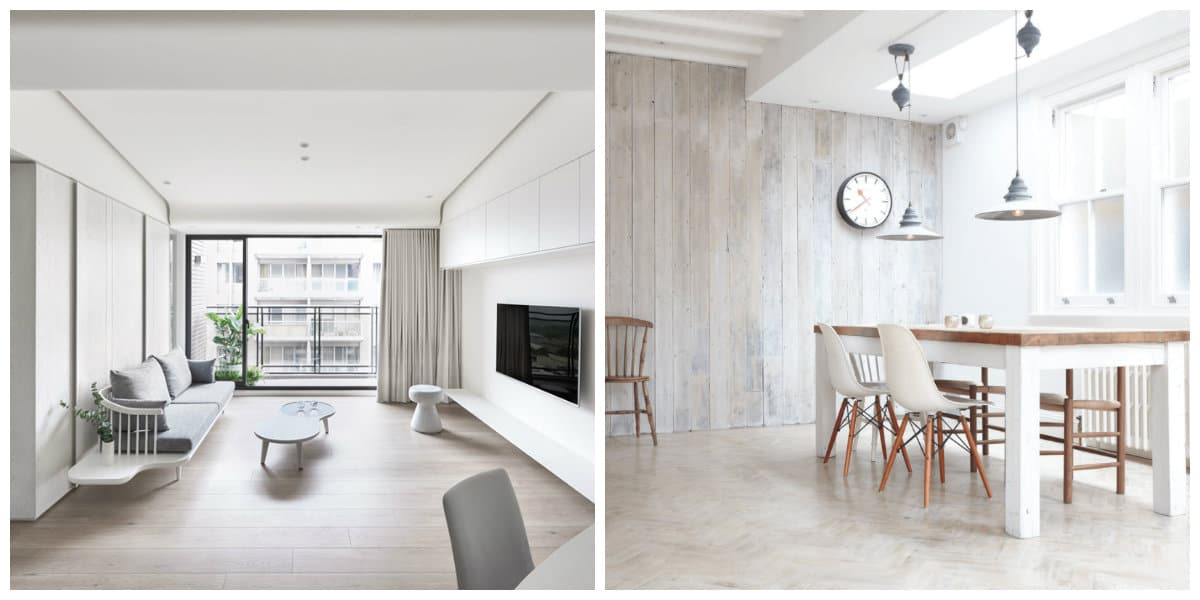 Decoracion de interiores minimalista- muebles muy simples y bonitos